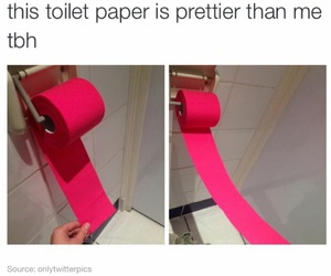 pink, funny, and pretty image