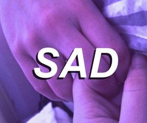 aesthetic, purple, and sad image