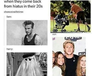 funny, one direction, and liam payne image