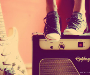 amp, converse, and electric image