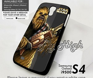 star wars, samsung galaxy s4 case, and chewbacca image