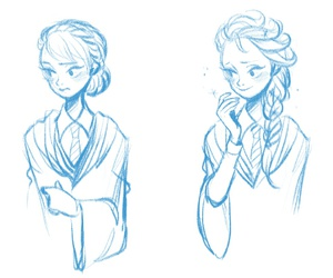 hogwarts and elsa image