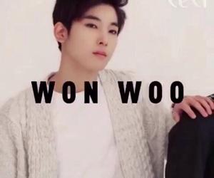Seventeen and won woo image