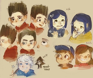 coraline, deviantart, and disney image