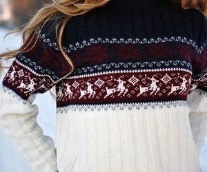winter, sweater, and fashion image