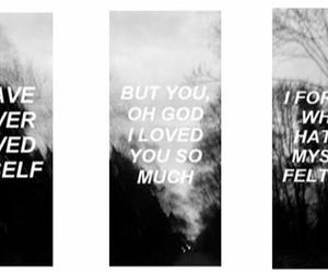 love, sad, and black and white image