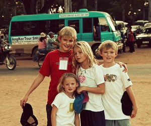 brothers, sister, and alexander ludwig image