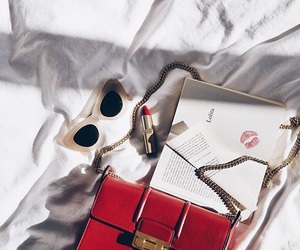 accessories, book, and style image
