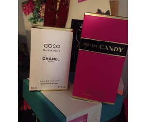candy, chanel, and Prada image