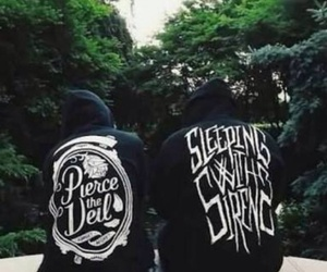 pierce the veil, sleeping with sirens, and band image