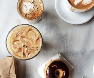 coffee, food, and donuts image