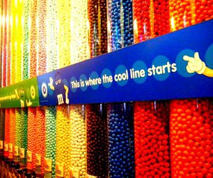 chocolate, new york, and m and m's image