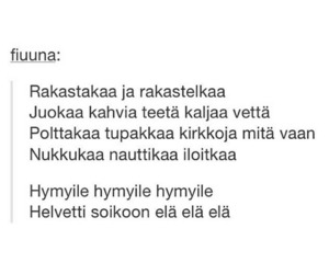 finnish, life, and quote image