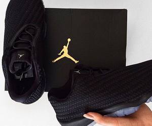 jordan, shoes, and black image