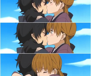anime, goals, and kiss image