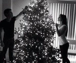 christmas, love, and couple image