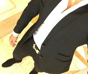 style, man, and suit image