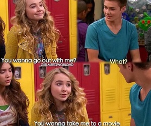date, girl meets world, and love image