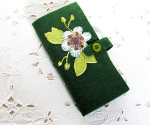 etsy, embroidery kit, and needle pouch image