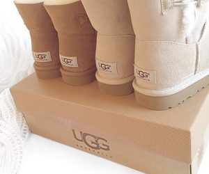 brown, uggs, and shoes image