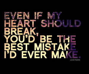 quote, mistakes, and heart image