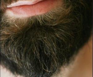 beard, man, and sexy image