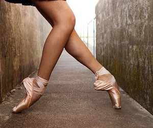 pink, street, and ballet image