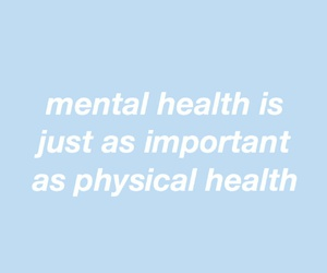important, mental, and physical image