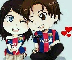 Barca, برشلونة, and love image