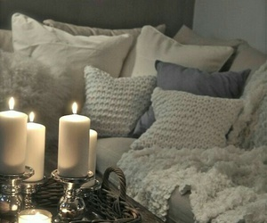 candle, home, and house image