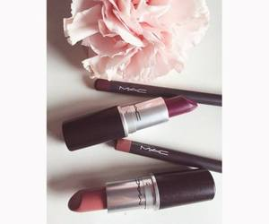 lipstick, fashion, and mac image