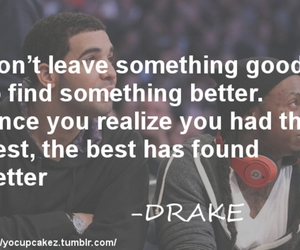 Drake, quote, and saying image