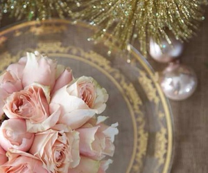 christmas, country cottage, and shabby chic image