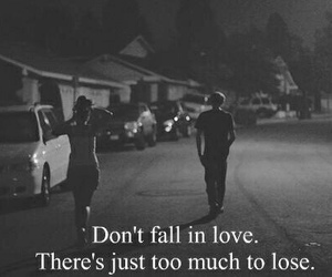 love, quotes, and lose image