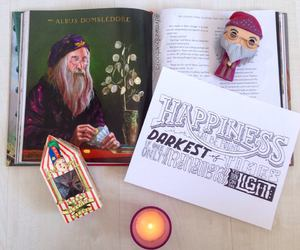 albus dumbledore, books, and drawings image