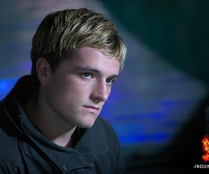 the hunger games, josh hutcherson, and mockingjay image