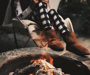 fire and cozy image