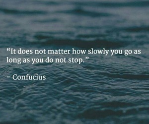ocean, neverstop, and quote image