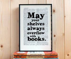 book, quotes, and shelves image