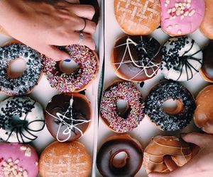 donuts, food, and theme image