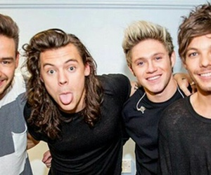 niall horan, Harry Styles, and 1d image