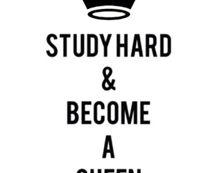 girl, Queen, and study image