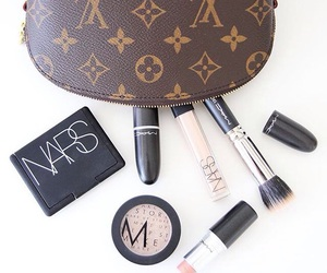 Louis Vuitton, luxury, and makeup image