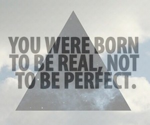 imperfect and quote image