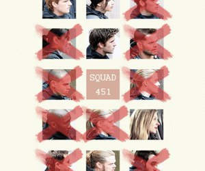 squad, peeta, and the hunger games image