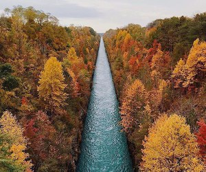 nature, river, and pretty image