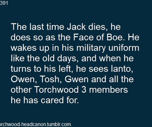 torchwood, jack harkness, and owen harper image