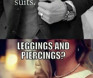 suit, dress, and woman image