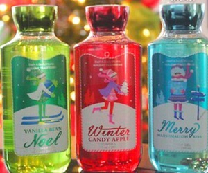 christmas, bath and body works, and winter image