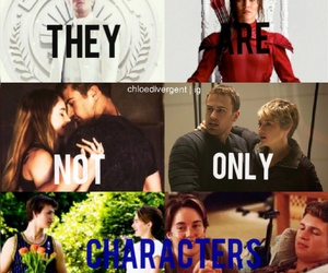 the hunger games, insurgent, and peeta image
